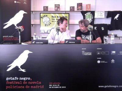 "Presentación express en Getafe Negro de ""El hombre que mató a Durruti"", de Pedro de Paz (Blog de PAco Gómez Escribano)"