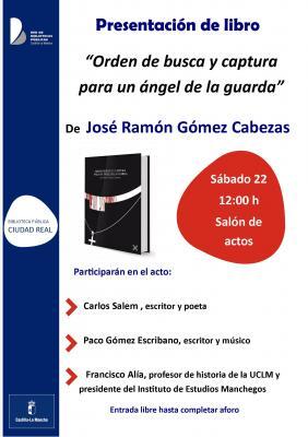 Y el día 22 en la biblioteca municipal de Ciudad Real.